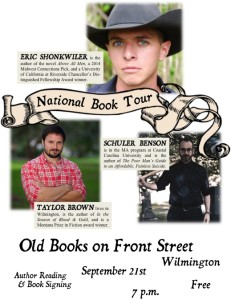 Old Books on Front St Flier IMAGE