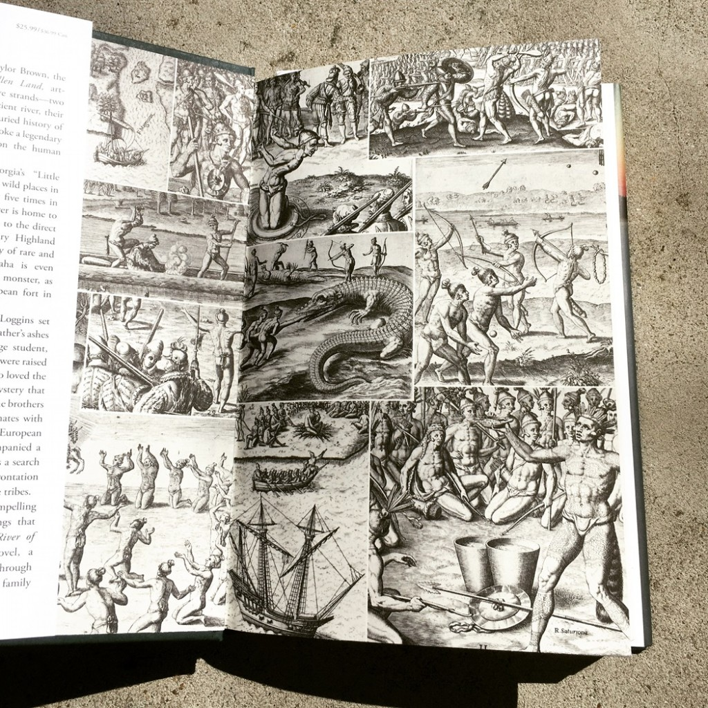 River of Kings Endpapers