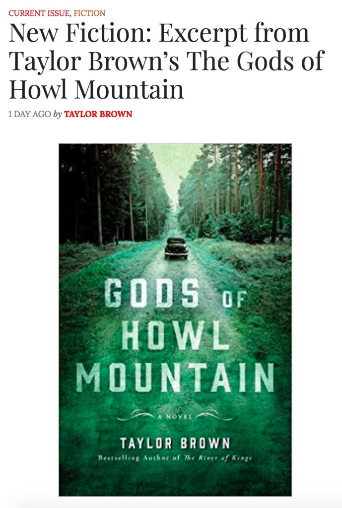 Gods of Howl Mountain Excerpt